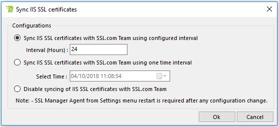 Sync IIS Certificates