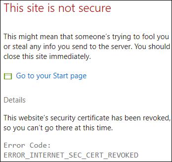 ERROR_INTERNET_SEC_CERT_REVOKED