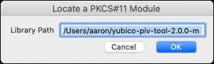 Locate a PKCS#11 Module