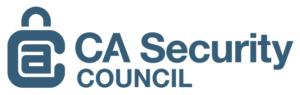 CA Security Council logo