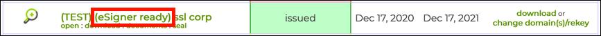 eSigner-ready EV code signing order