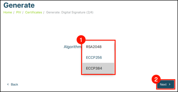 select algorithm