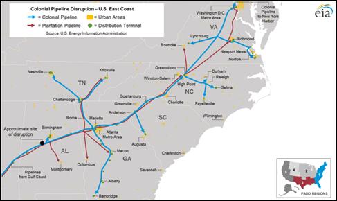 Colonial Pipeline Disruption